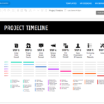 Online Roadmap Maker – Create A Roadmap Template – Venngage Intended For Blank Road Map Template