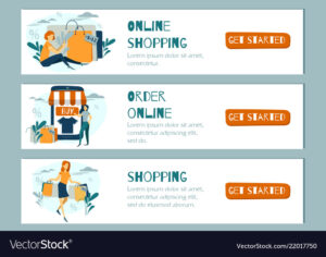 Online Shopping Banner Mobile App Template in Free Online Banner Templates