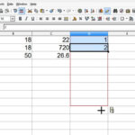 Openoffice Calc 4 Tutorial 4 – Formulas And Calculations – Make A Fibonacci  Number List Within Open Office Index Card Template