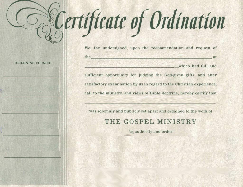 Ordination Certificate Pdf Tabc Certification Certificate Of For Certificate Of Ordination Template