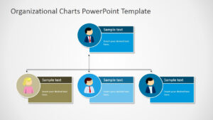 Organizational Charts Powerpoint Template for Microsoft Powerpoint Org Chart Template