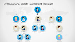 Organizational Charts Powerpoint Template intended for Microsoft Powerpoint Org Chart Template