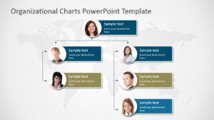 Organizational Charts Powerpoint Template – Slidemodel in Microsoft Powerpoint Org Chart Template