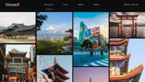 Oriento Tourism Powerpoint Template pertaining to Tourism Powerpoint Template