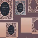 Ornamental Frame Envelope Card 5X7, Cricut Template, Pocket Envelope, Svg,  Dxf, Cricut, Silhouette Cameo, Laser Cut File In Silhouette Cameo Card Templates
