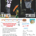Osaa – Officials Regarding Football Referee Game Card Template