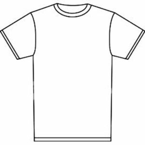 Outline Of A T Shirt Template | Free Download Best Outline within Blank T Shirt Outline Template