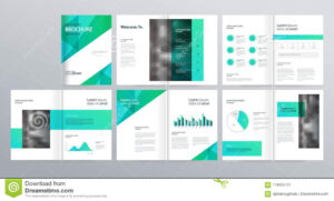 Page Layout For Company Profile, Annual Report, And Brochure regarding Welcome Brochure Template