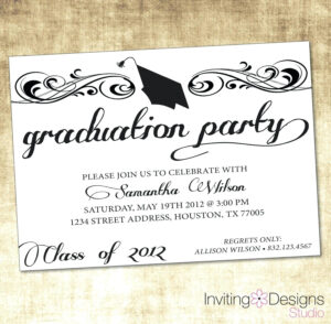 Party Invite Template Word – Verypage.co intended for Free Graduation Invitation Templates For Word
