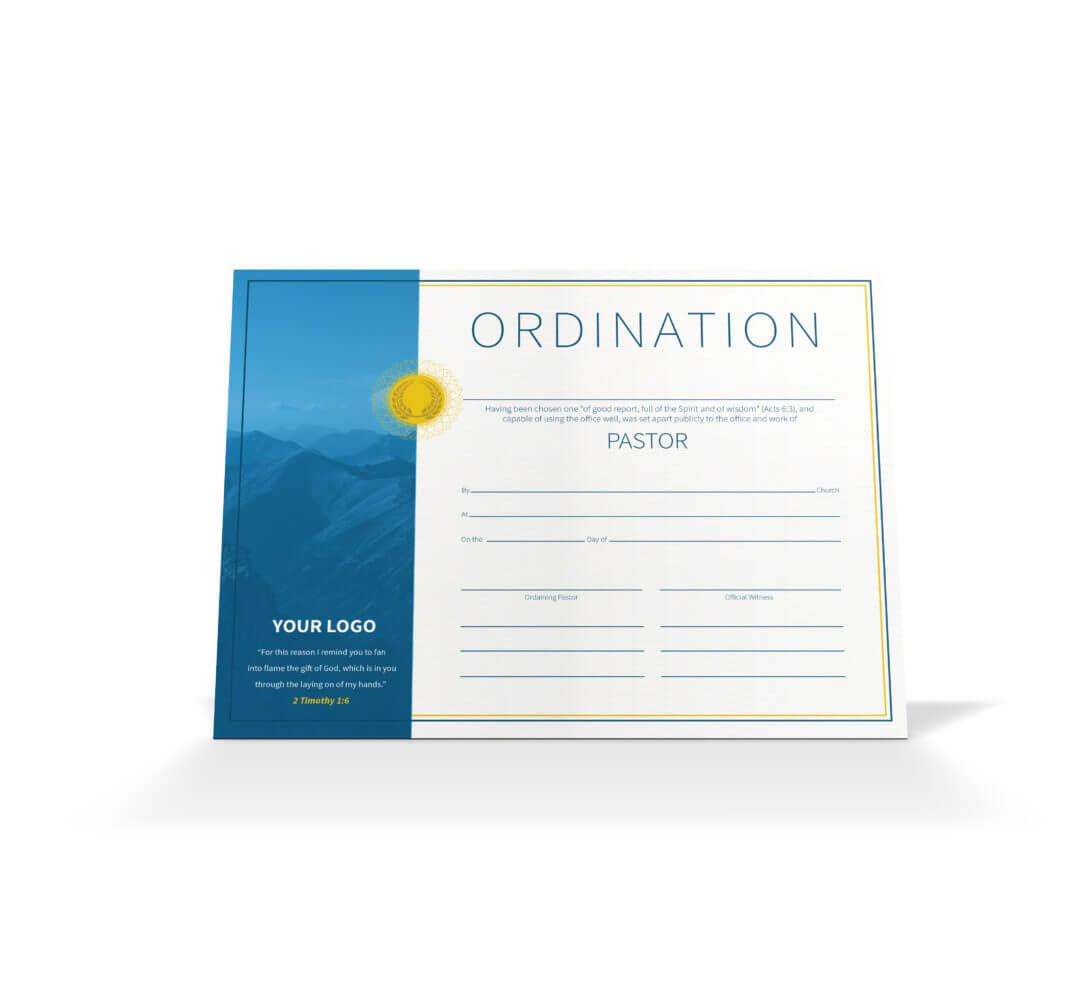 Pastor Ordination Certificate - Vineyard Digital Membership Regarding Ordination Certificate Templates