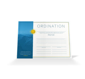 Pastor Ordination Certificate – Vineyard Digital Membership Within Certificate Of Ordination Template