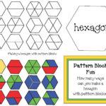 Pattern Block Activities   Pattern Blocks   Pattern Blocks Inside Blank Pattern Block Templates