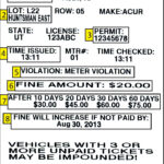 Pay A Ticket – Commuter Services – The University Of Utah Pertaining To Blank Parking Ticket Template