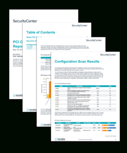 Pci Configuration Audit Report – Sc Report Template | Tenable® in Security Audit Report Template