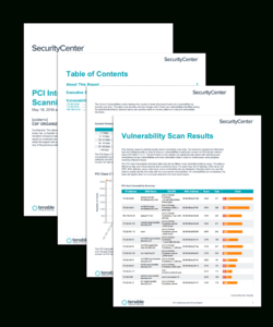 Pci Internal Vulnerability Scanning Report – Sc Report regarding Nessus Report Templates