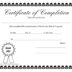 Pdf Free Certificate Templates With Free School Certificate Templates