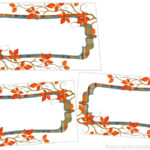 Perfectly Plaid Thanksgiving Place Cards – The Scrap Shoppe Throughout Thanksgiving Place Card Templates