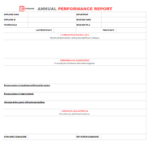 Performance Report Template – Free Performance Reports In With Regard To What Is A Report Template