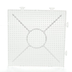 Perler Beads Template Clear Linkable Large Pegboard 5Mm 15 pertaining to Blank Perler Bead Template