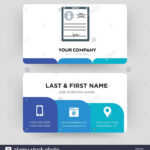 Personal Details, Business Card Design Template, Visiting In Personal Identification Card Template
