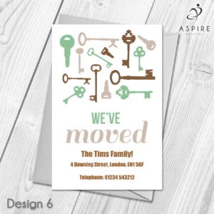 Personalised Home Sweet Home Change Of Address Cards For Free Moving House Cards Templates