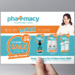 Pharmacy Flyer Template – Psd, Ai & Vector – Brandpacks Intended For Pharmacy Brochure Template Free
