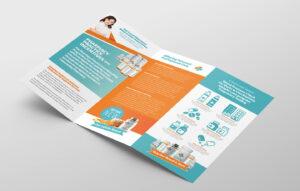 Pharmacy Tri-Fold Brochure Template – Psd, Ai & Vector with Pharmacy Brochure Template Free
