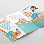 Pharmacy Tri Fold Brochure Template – Psd, Ai & Vector With Pharmacy Brochure Template Free