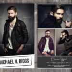Phenomenal Free Comp Card Template Ideas For Mac Psd For Model Comp Card Template Free