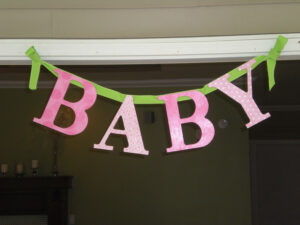 Photo : Baby Shower Supplies Honolulu Image throughout Diy Baby Shower Banner Template