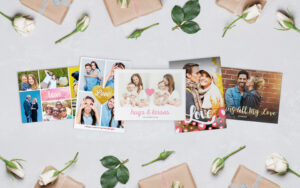 Photo Cards Pertaining To Birthday Card Collage Template