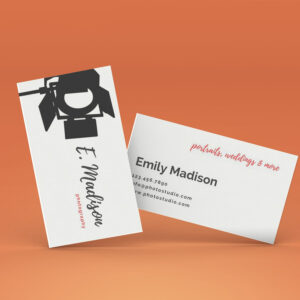 Photography Business Card Download Illustrator Template Free in Visiting Card Illustrator Templates Download