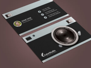 Photography Business Card Template Psd – Free Graphics with regard to Photography Business Card Templates Free Download