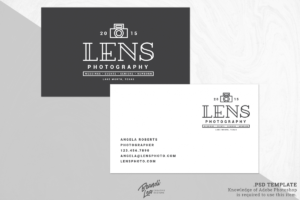 Photography Business Card Template within Photography Business Card Template Photoshop