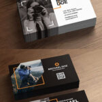 Photography Business Cards Template Psd On Behance Inside Photographer Id Card Template