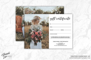 Photography Gift Certificate Templ #commercial#free#fonts with Free Photography Gift Certificate Template