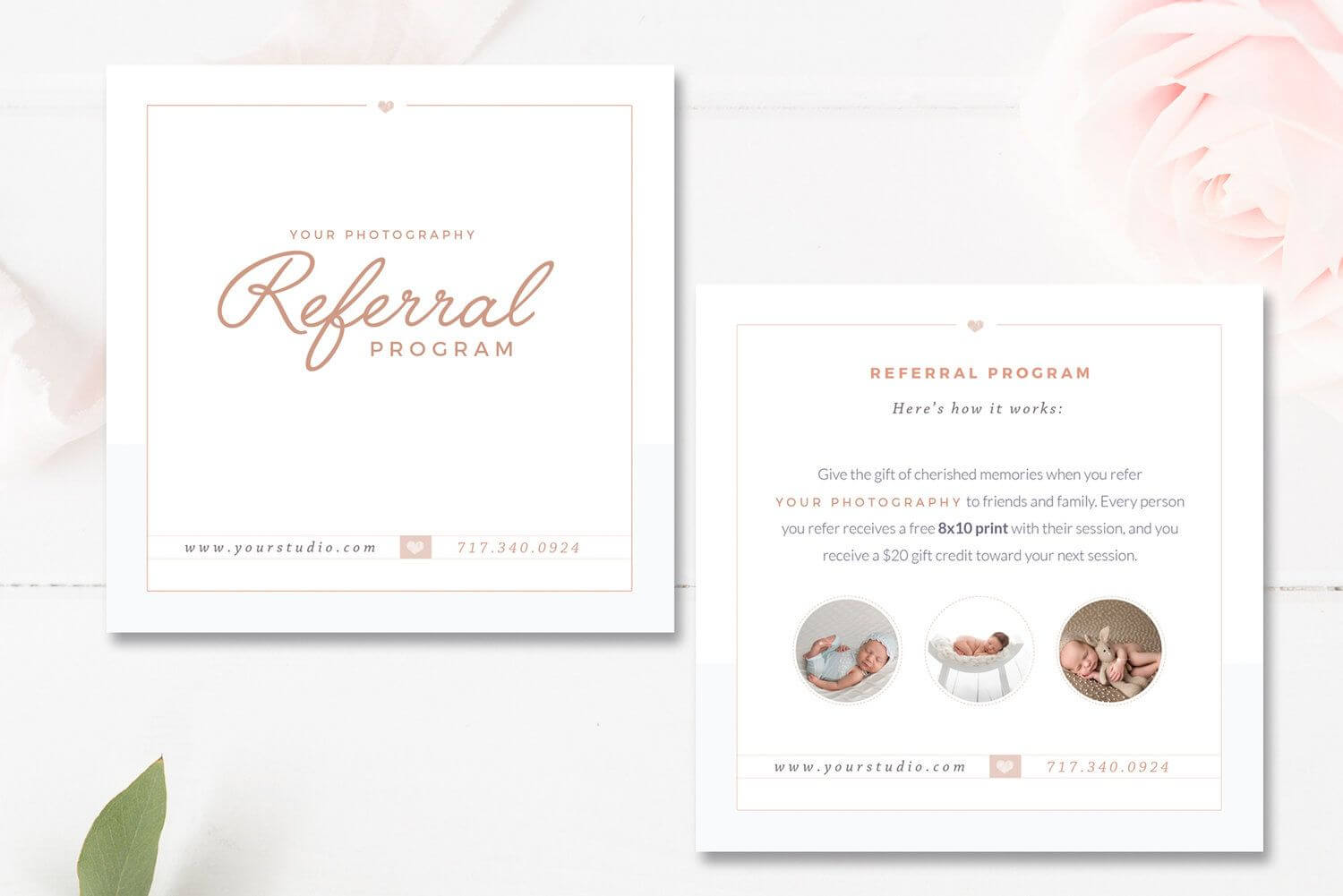Photography Referral Card Templates, Referral Program Pertaining To Photography Referral Card Templates