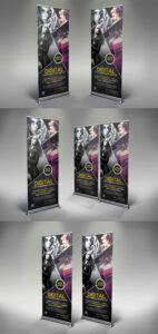 Photography Rollup Banner Template Psd | Roll-Up | Rollup with Photography Banner Template