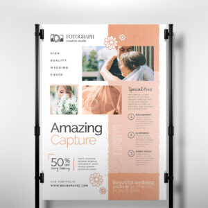 Photography Service Banner Template – Psd, Ai & Vector intended for Photography Banner Template