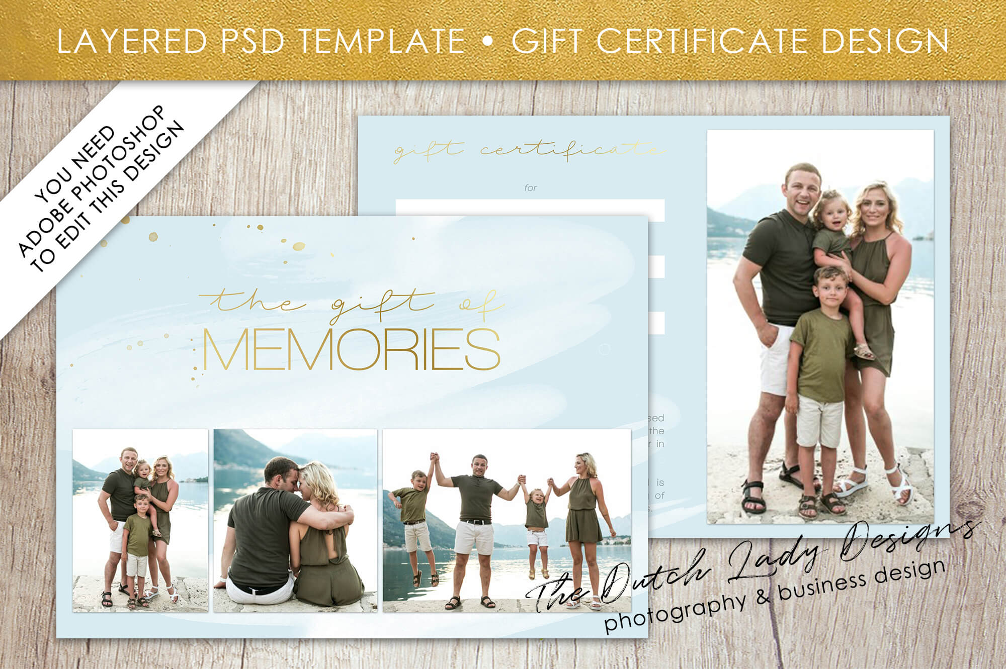 Photoshoot Gift Certificate Template Photography Photo Card With Regard To Photoshoot Gift Certificate Template