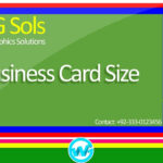 Photoshop Business Card Template With Bleeds | Learn Photoshop In Hindi /  Urdu With Business Card Size Photoshop Template