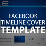 Photoshop Template: Facebook Timeline Cover (Psd File) pertaining to Photoshop Facebook Banner Template
