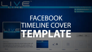 Photoshop Template: Facebook Timeline Cover (Psd File) throughout Facebook Banner Template Psd