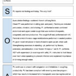 Physical Therapist Soap Notes Example | Quotes | Soap Note With Soap Note Template Word