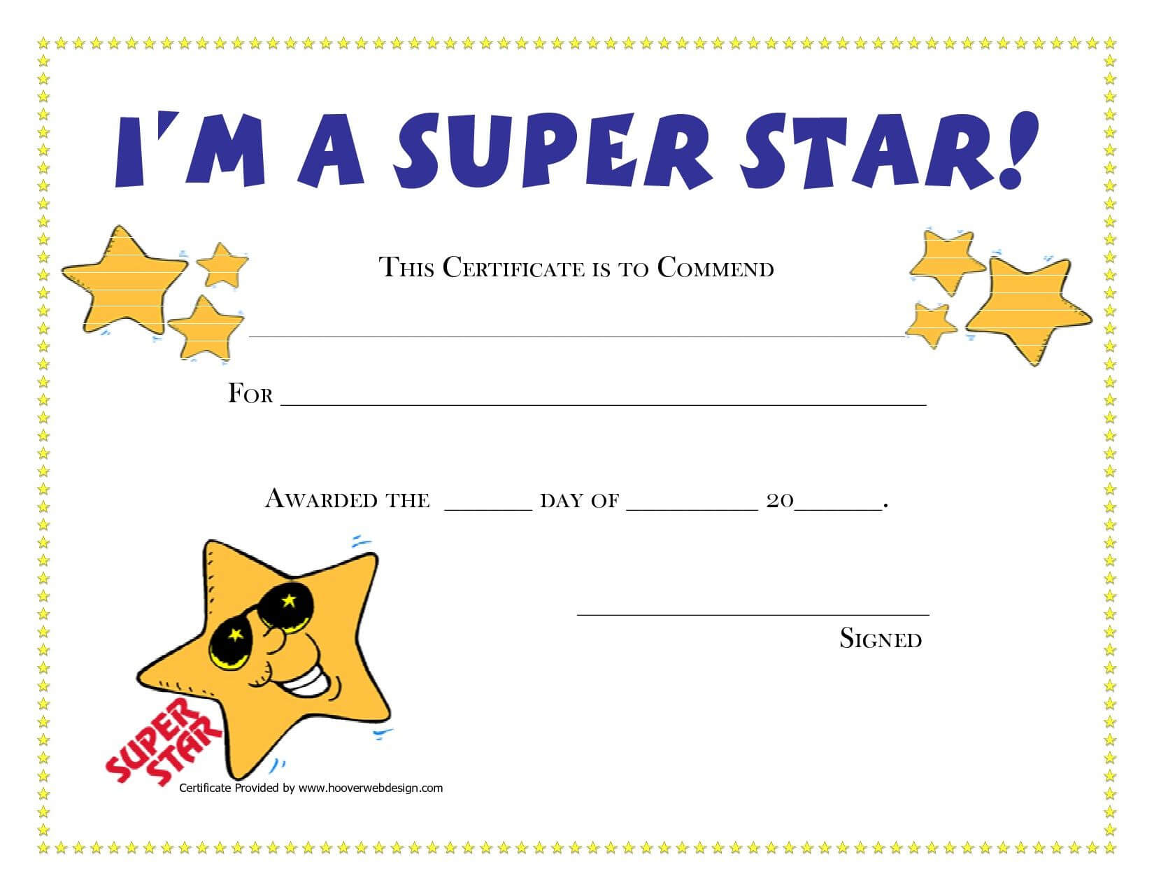 Pinamanda Crawford On Teaching Music And Loving It Intended For Star Of The Week Certificate Template