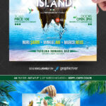 Pinanne Kwaro On Poster Concepts | Graphic Design With Island Brochure Template