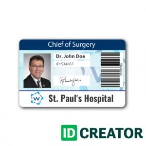Pinblue Heron On /en/   Id Card Template, Name Badge inside Doctor Id Card Template