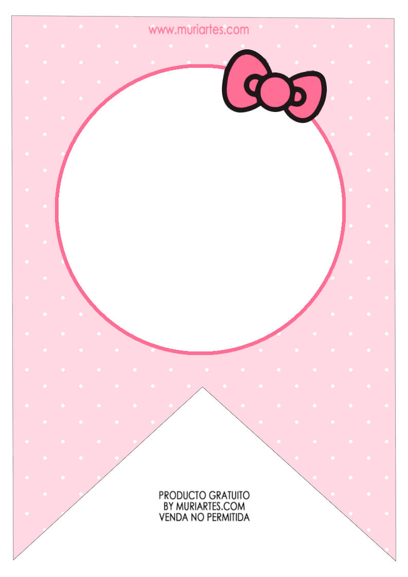 Pincrafty Annabelle On Hello Kitty Printables | Hello With Regard To Hello Kitty Birthday Banner Template Free