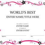Pindiane Barber On Certificates | Certificate Templates In Fun Certificate Templates