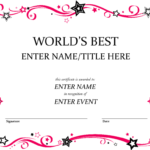 Pindiane Barber On Certificates | Certificate Templates With Best Employee Award Certificate Templates